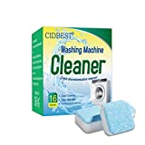 Washing Machine Cleaner, Washing Machine Effervescent Tablets, Solid Washer Tablet, for Front Load