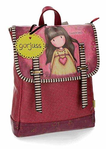 Gorjuss Heartfelt Mochilas de a diario, 38 cm, 9.92 litros, Rosa