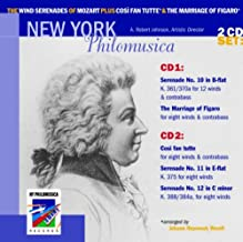 The Wind Serenades of Mozart, plus Cosi fan tutte & The Marriage of Figaro set ~ New York Phiomusica