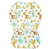 Cojín de asiento para silla alta para bebé, transpirable, diseño de animales