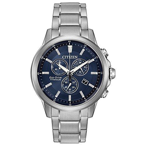 Citizen Eco-Drive Men's 'Titanium' Quartz Casual Watch