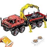 HYZM Técnica 8 x 8 bloques de construcción Offroader 2.4G 4CH camiones con mando a distancia y motores, compatible con Lego Technic – 3068 piezas