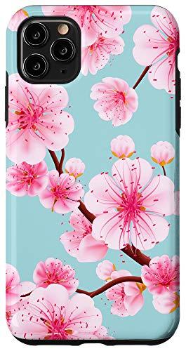 iPhone 11 Pro Max Japanese Sakura Flower Cherry Blossom Tree Case