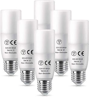 LED電球 Alantis T形タイプ E26口金 100W形相当 12W 昼白色(5000K) 1200lm EFD25・EFD15形代替推奨 電球形蛍光灯(D形・T形) 断熱材施工器具対応 全方向タイプ 一般電球 (6個入り)