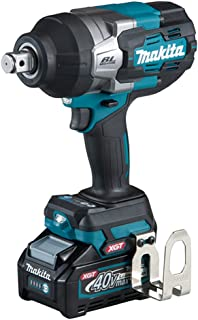 Makita TW001GD202 40V Max XGT Brushless Impact Wrench Complete with 2 x 2.5 Ah Batteries, Fast Charger and Interchangeable...