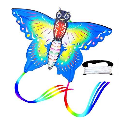 Dettelin Coloridas Cometas de Mariposa con Cometa voladora d