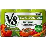 v8 tomato soup - V8 Low Sodium 100% Vegetable Juice, 5.5 oz. Can, 6 Count