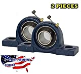 2 Pieces- UCP204-12, 3/4 inch Pillow Block Bearing Solid Base,Self-Alignment,...