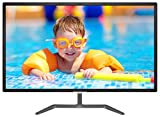 Philips 323E7QDAB 32' Monitor, Full HD IPS, EDGE-to-EDGE Glass with Narrow Borders, Speakers, Flicker-free, Vesa, 4Yr Advance Replacement Warranty