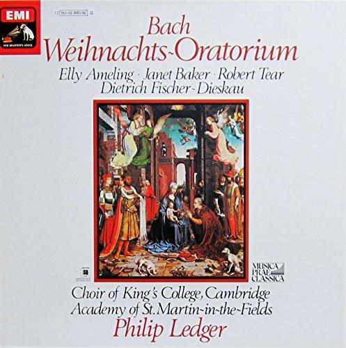 Bach: Weihnachts-Oratorium BWV 248 (Gesamtaufnahme) [Vinyl Schallplatte] [3 LP Box-Set]