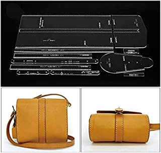 NW Shoulder Bag Acrylic Template Leather Pattern Acrylic Leather Pattern Leather Templates for Bags