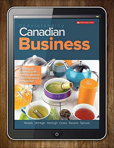 Understanding Canadian Business