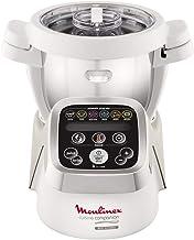 Moulinex Cuisine Companion HF802A - Robot  cocina con 6 programas automáticos, 4,5 L de capacidad 6 personas, 12 velocidades y temperatura de 30º a 130º, función de mantenimiento de la calor 45 min