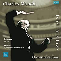 ミュンシュ&パリ管 ~ デビュー・コンサート / ドビュッシー : 交響詩 「海」 | ベルリオーズ : 幻想交響曲 (Debussy : La Mer | Berlioz : Symphonie Fantastique / Charles Munch | Orchestre de Paris) [1967 Paris Live] [2LP] [Live Recording] [Limited Edition] [日本語帯・解説付] [Analog]