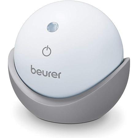 Beurer SL 10 DreamLight Aide au sommeil, lumière pour soutenir un rythme de respiration conscient pour un endormissement rapide et facile, 2 techniques de respiration réglables et arrêt automatique