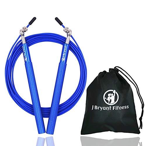 UQstyle Corde de saut de vitesse professionnelle technique Corde de remise en forme pour adultes Sports de saut de vitesse, crossfit, boxe, maman, fitness, exercice/entraînements N