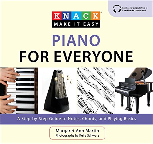 Knack Piano for Everyone: A Step-by-Step Guide to Notes, Chords, and Playing Basics (Knack: Make It Easy) (English Edition)
