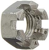 a16041200ux0497 - Ventana M12 x 1,75 mm, 304 acero inoxidable métrico Hex Flor castillo nueces 5 unidades