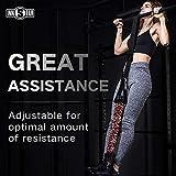 INNSTAR Pull up Assist Band System Adjustable Anti Snap Chin Up...