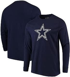 Dallas Cowboys Navy Logo Premier Long Sleeve T-Shirt