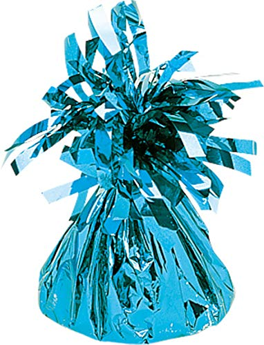 Amscan Baby blauwe folie ballon gewicht 170g/6oz
