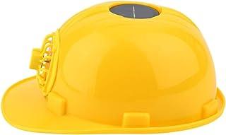 mymerlove Outdoor Solar Energy Safety Helmet Hard Ventilate Hat Cap Cooling Cool Fan
