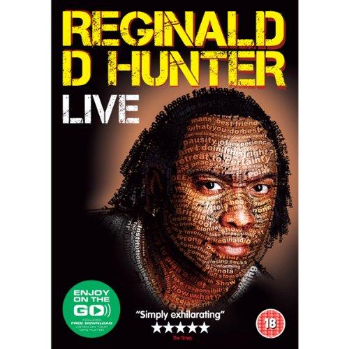 Reginald Hunter Live cover art