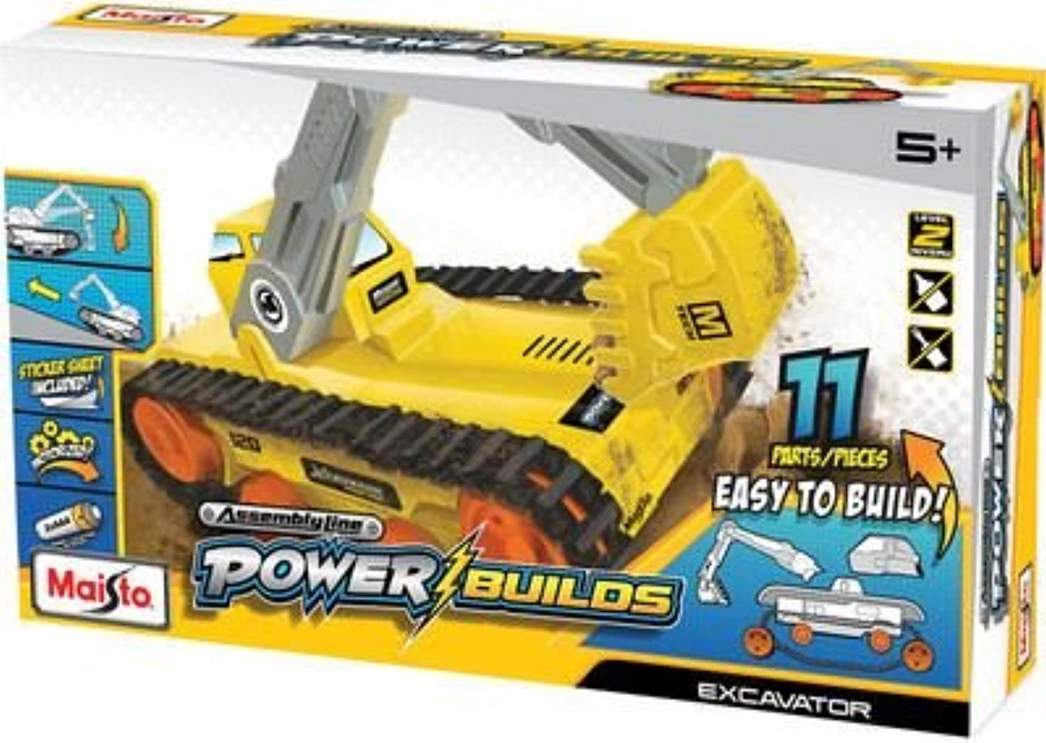 Maisto Assembly Line DO IT YOURSELF energia Builds Excavator modello Kit  82031