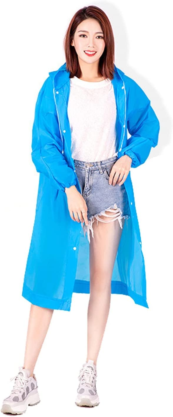 LSYFCL Blue Raincoat Women's ! Super beauty product restock quality top! Windp Commuting Lightweight Ranking TOP1 Student