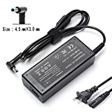45W AC Adapter Laptop Charger Compatible for HP Notebook 15-r132wm 15-r015dx 15-r030wm 15-r264dx 15-g019wm 15-p214dx 15-p030nr 15-db0011dx 15-d035dx 15-d069wm Laptop TouchSmart Notebook PC Power Suppl