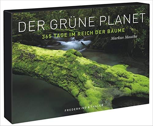 Tischaufsteller – Der grüne Planet: 365 Tage im Reich der Bäume