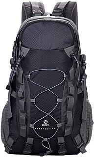 Jtoony Mochila de Senderismo Mochila para Excursionismo Impermeable de Gran Capacidad para Bolsa de Alpinismo de 40 litros Macutos de Senderismo (Color : Black)