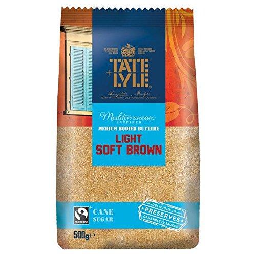 Tate & Lyle Fairtrade Light Brown Sugar 500g