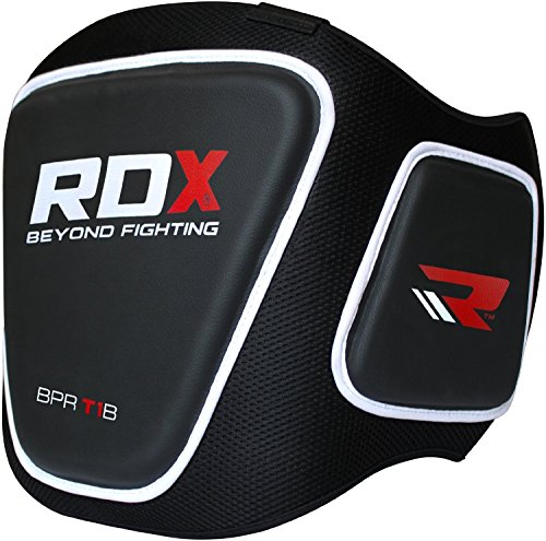 RDX Boxing Belly Pad Chest Guard MMA Body Protector Martial Arts Rib Shield Armour Taekwondo Training
