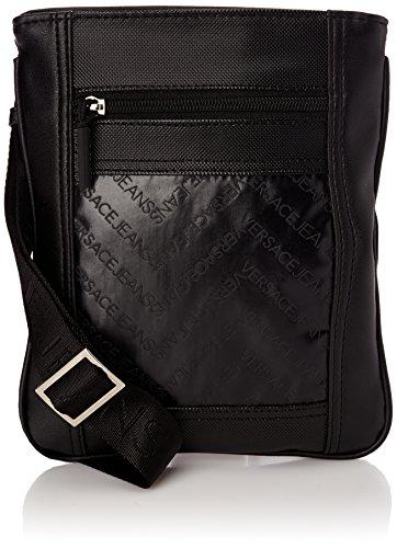 Versace Jeans Linea Chevron Dis 3, Herren Handgelenkstaschen, Schwarz (Noir (76163 899 Nero)), onesize
