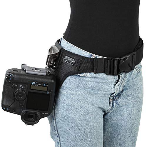 Spider Pro v2 Single Camera System Holster Hüft-Tragesystem für eine professionelle DSLR-Kamera - für alle DSLR, auch Profimodelle mit großen Objektiven