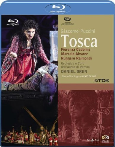 Tosca [Blu-Ray] [Import Italien]