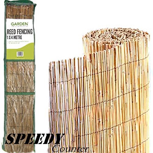 Scotrade New Fantastic Garden Reed Fencing: 1.5 x 4M Ideal for screening walls and fences.