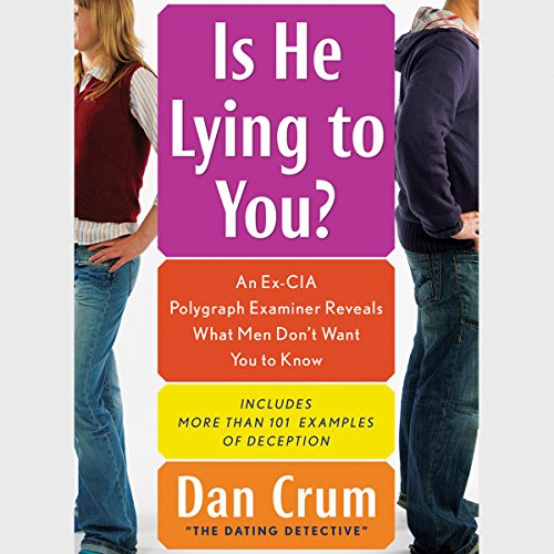 Is He Lying to You? audiobook cover art