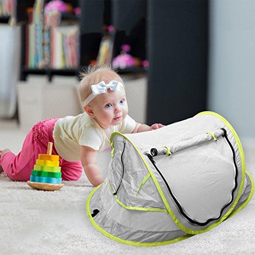 StillCool Baby Reisebett Portable Pop Up Sommer Strand Moskitonetz & Sun Shelter mit 2 Pegs Falten Infant Krippe Moskitonetz - 7