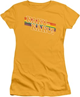 Mork & Mindy Nanu Rainbow Junior T-Shirt