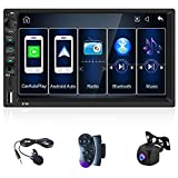 Best Apple Stereo For Car With Backup Camera - CAMECHO Android Auto Double Din Apple Carplay Stereo Review