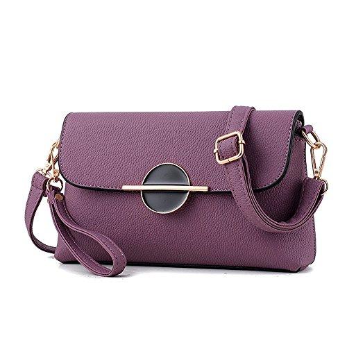 AILEESE, Borsa a tracolla donna viola Purple