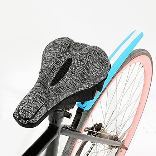 luukiy Asiento de Bicicleta, Sillín de Bici de Montaña Cómodo, Sillín de Ciclismo Portátil para MTB, Bicicleta de Carretera, Bicicleta Urbana