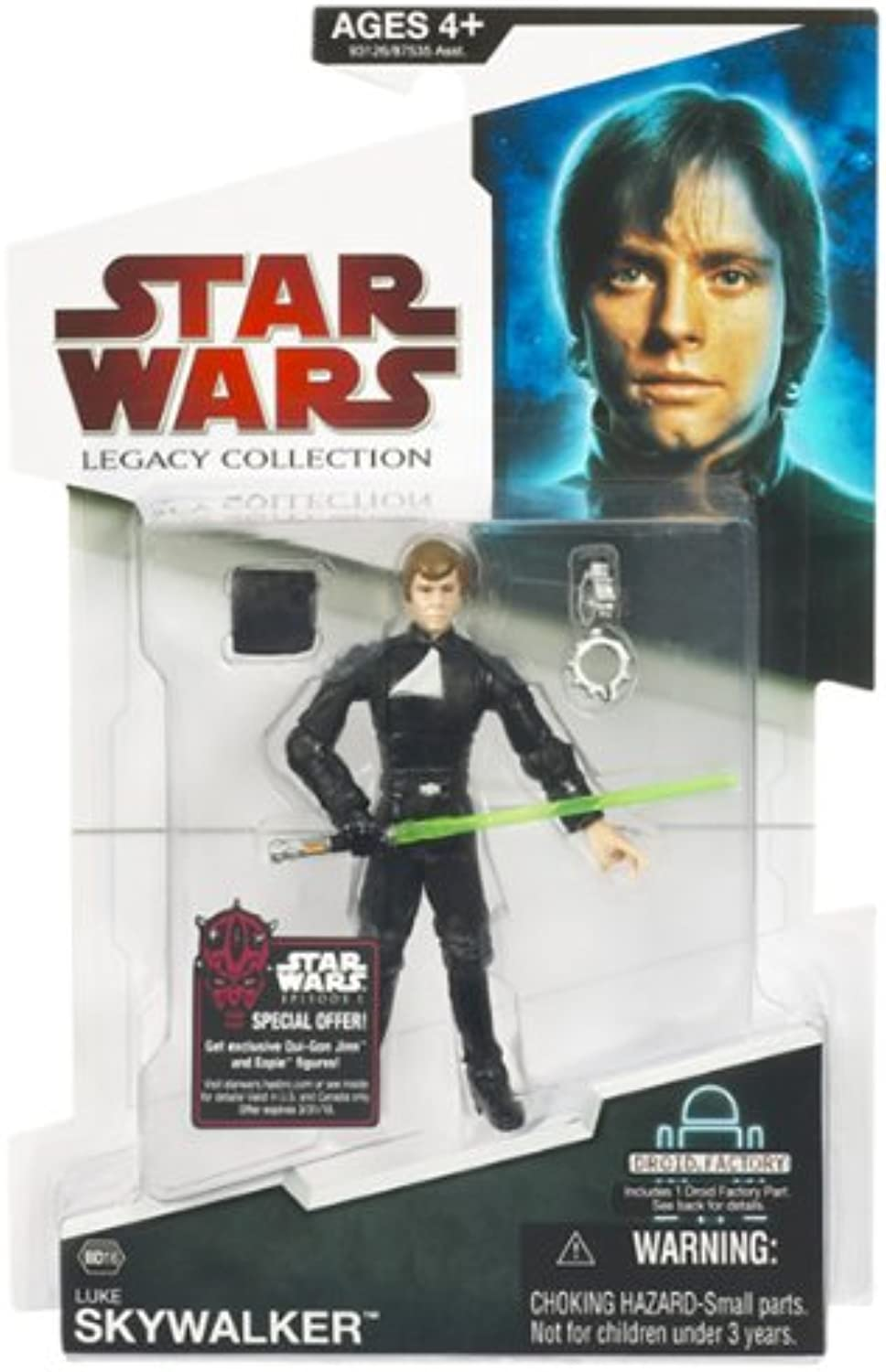 Hasbro Star Wars (Build A Droid)  Luke Skywalker With Hk50 Part Action Figure
