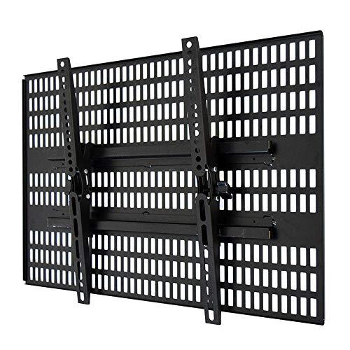 テレビ 壁掛け 金具 ホッチキス止め STARPLATINUM 液晶 TV モニター TVセッター壁美人 TI300 37-65インチ対応 Lサイズ ブラック