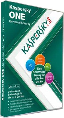 Kaspersky One 2012 3 Lizenzen [import allemand]