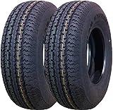 2 New Premium Trailer Tires ST 175/80R13 6PR Load Range...