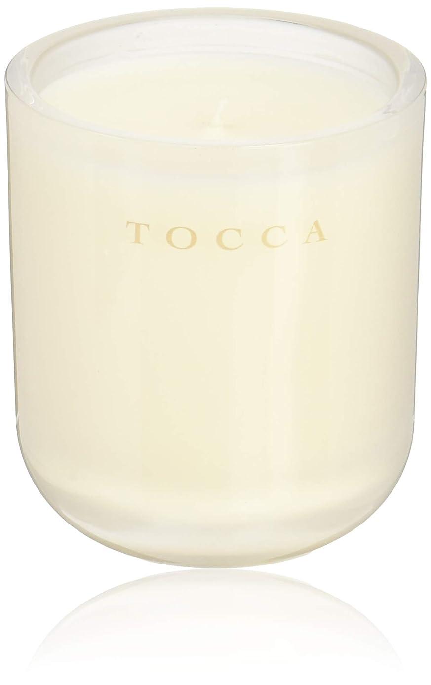 雑品頬骨気球TOCCA(トッカ) ボヤージュ キャンドル ボラボラ 287g (ろうそく 芳香 バニラとジャスミンの甘く柔らかな香り)