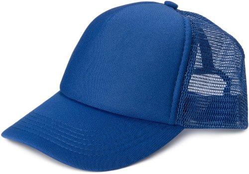 styleBREAKER 5 Panel Mesh Cap 04023007 (Royal-Blau)